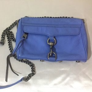 Rebecca Minkoff crossbody leather bag.
